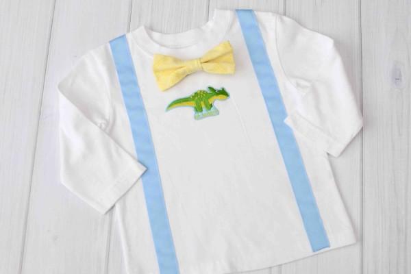 Mr Handsome Suspender & Bow Tie Shirt