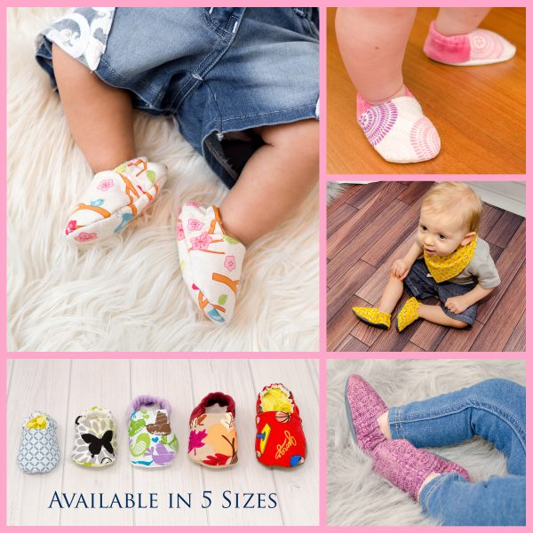Baby Shoes Collage