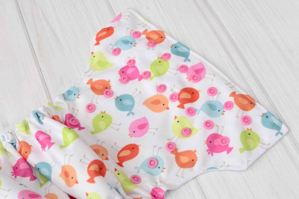 Birds Cloth Diaper Cover