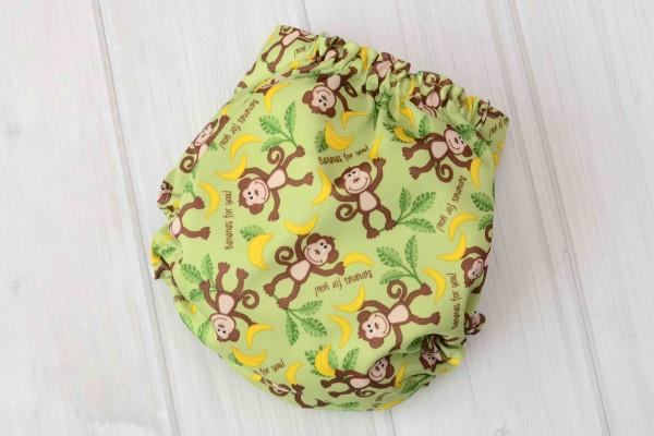 Monkey Cloth Diaper Cover