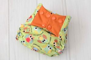 Owls Cloth Diaper Cover