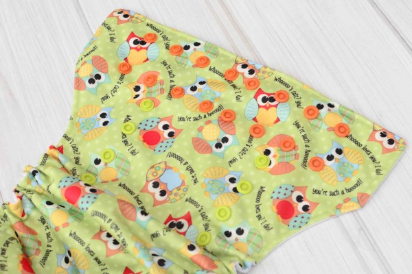 Owls Cloth Diaper Cover