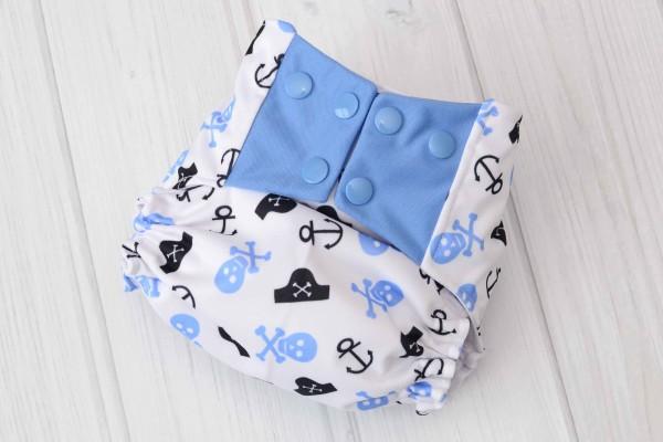 Pirate Cloth Diaper Cover