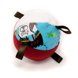 Pirate Rattle Ball
