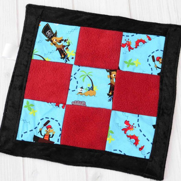 Pirate Sensory Blanket Toy