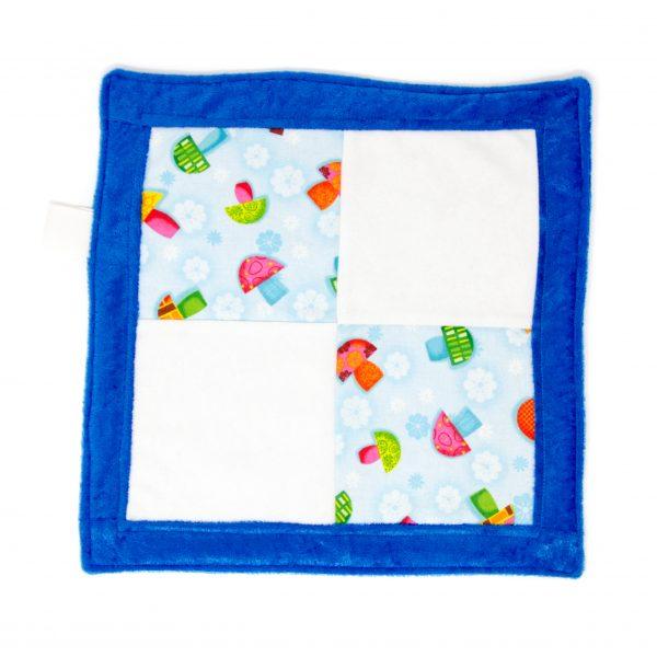 Mushroom Sensory Blanket Toy