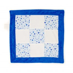 Blue Dots Sensory Blanket Toy