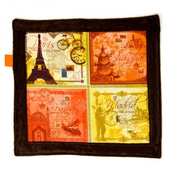 Travel Sensory Blanket Toy