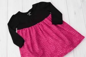 Pink Cheetah Dress