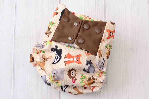 Forest Friends Cloth Diaper Covers