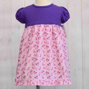Hearts T-Shirt Dress