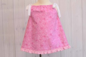 Pink Glitter Pillowcase Dress