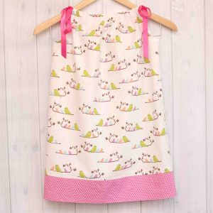 White Birds Pillowcase Dress