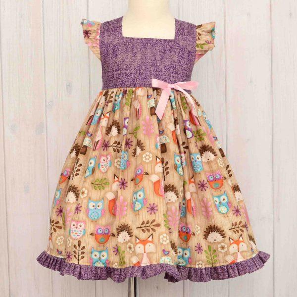 Woodland Critters Dress