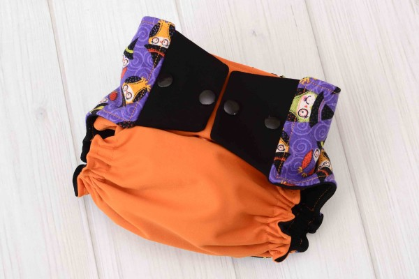 Halloween Owls Cloth Diaper Cover