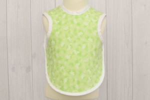 Green Butterfly Apron Bib