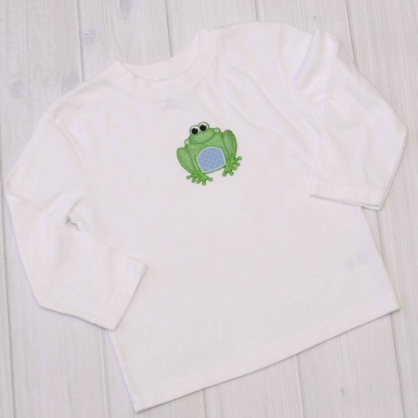 Frog Applique Shirt
