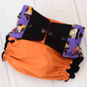 Halloween Owls Diaper