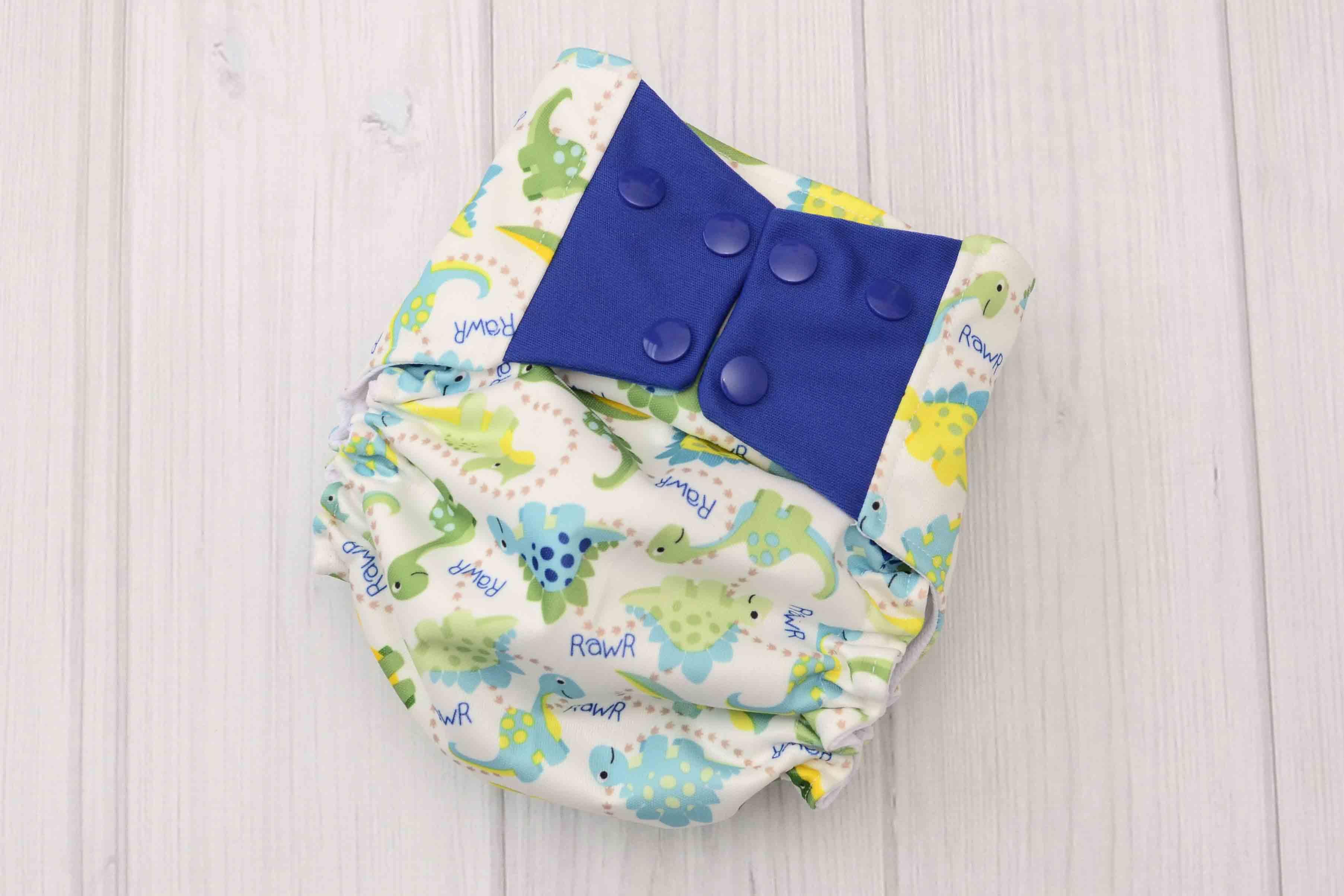dinosaur cloth diaper cover