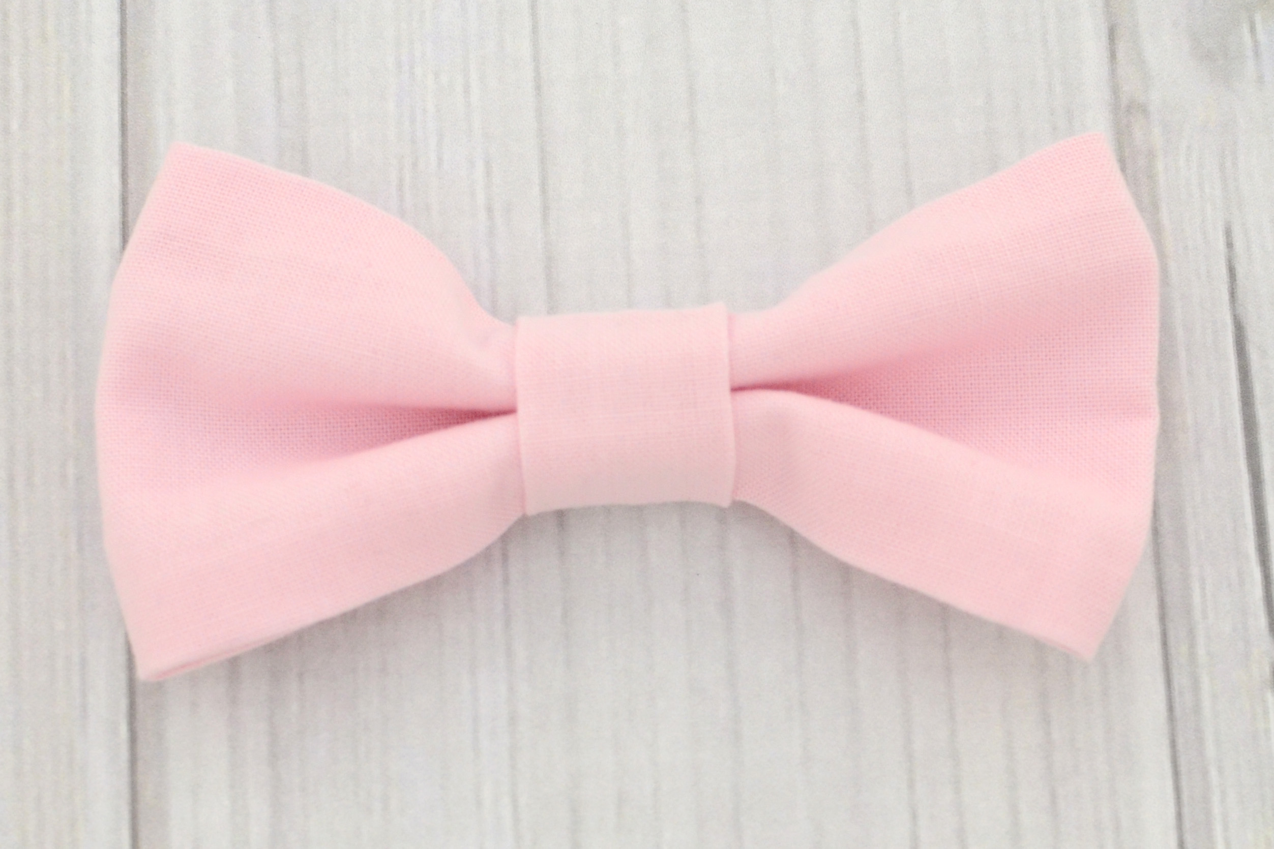 blush pink bow tie and suspenders shirt labor of