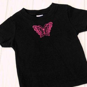Black Butterfly Shirt