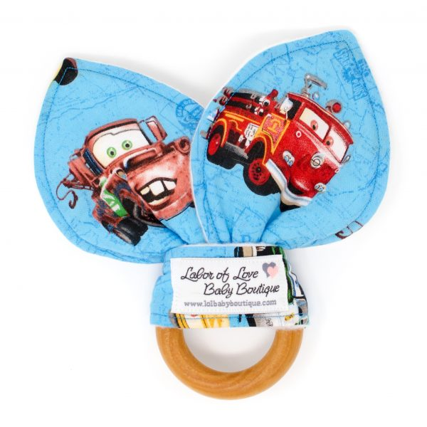 Cars Teething Ring