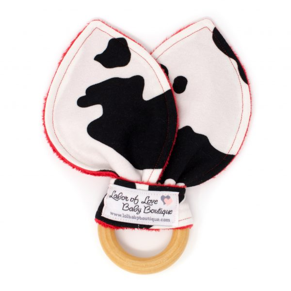 Cow Teething Ring