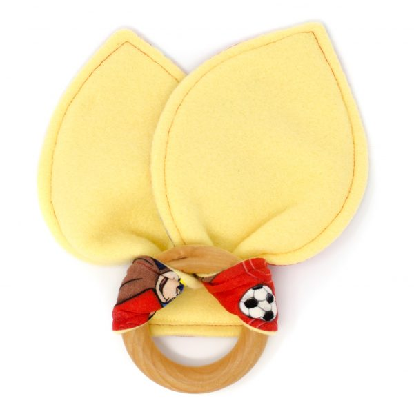 Curious George Teething Ring