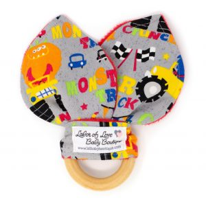 Monster Trucks Teething Ring