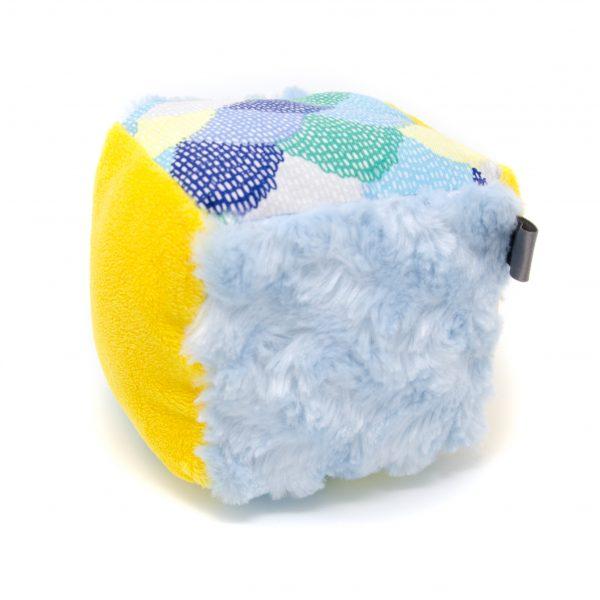 Blue Scallops Rattle Block