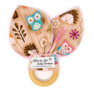 Woodland Critters Teething Ring