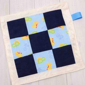 Dinosaur Sensory Blanket Toy