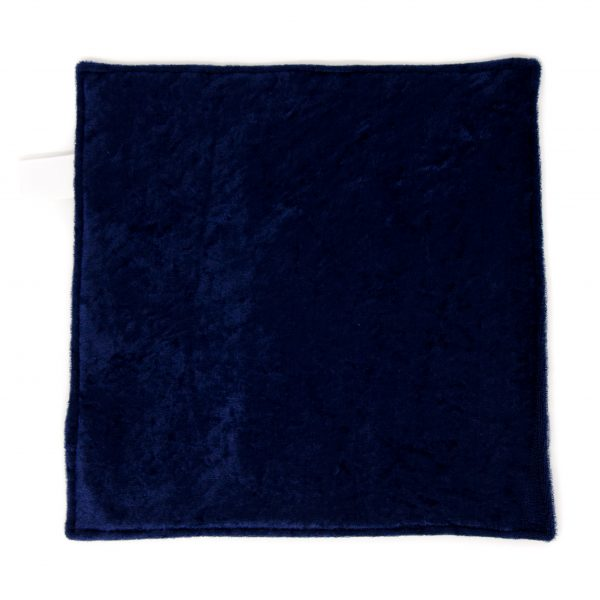 Navy Stripe Sensory Blanket Toy