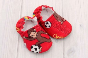 Monkey Baby Shoes