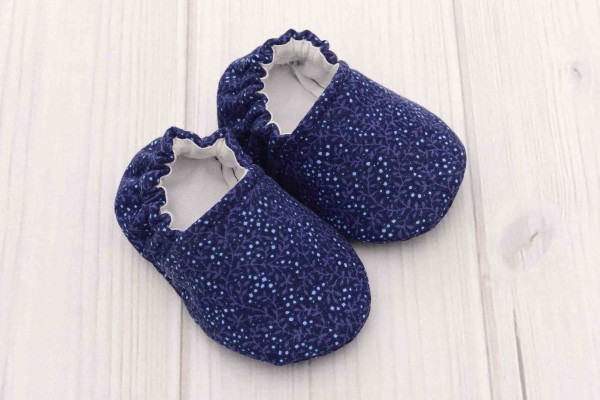 Navy Baby Shoes