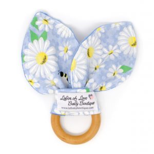 Daisy Teething Ring