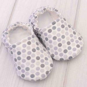 Gray Dots Shoes