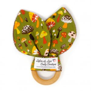 Mushroom Teething Ring
