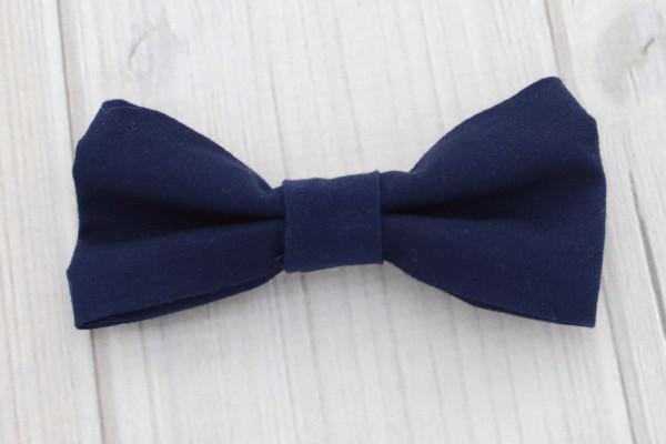 Navy Bow Tie Shirt