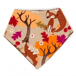 Autumn Fox Bandana Bib