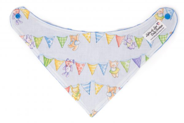 Animal Bunting Bandana Bib