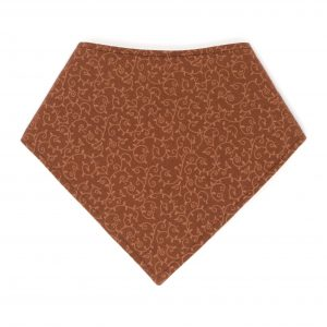 Brown Vines Bandana Bib