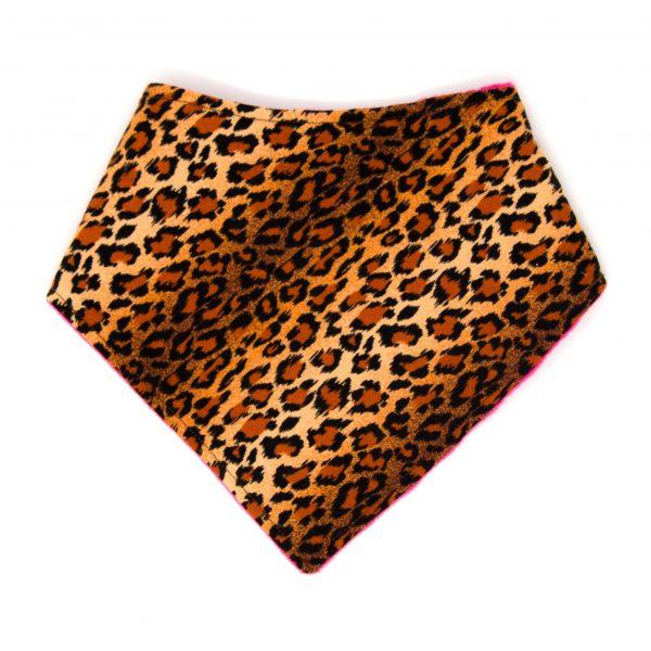 Cheetah Bandana Bib