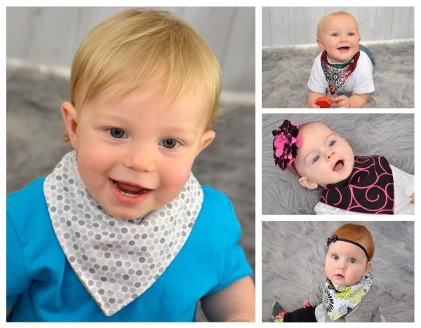 Bandana Bib Collage