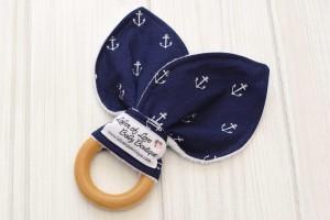 Anchor Teething Ring