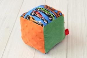 Race Car Rattle Block