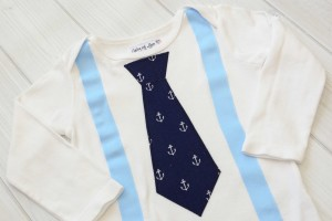 Anchors Tie & Suspender Shirt