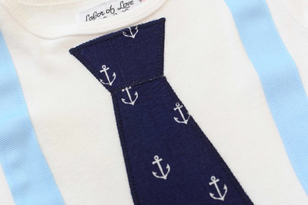 Anchors Tie & Suspender Shirt