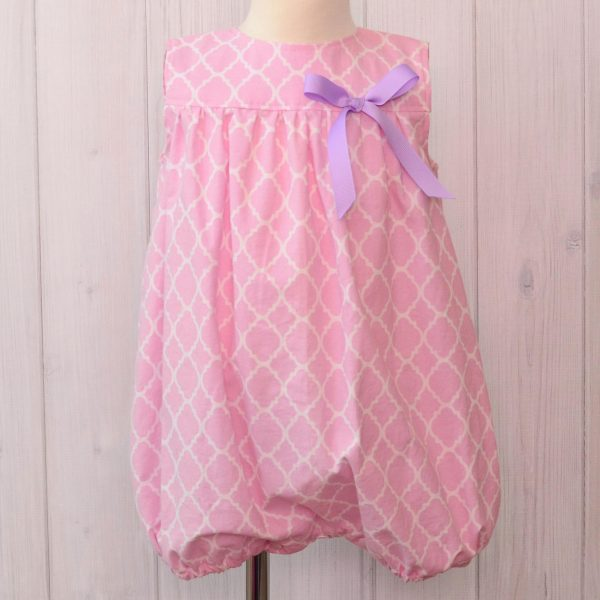 Pink Bubble Romper
