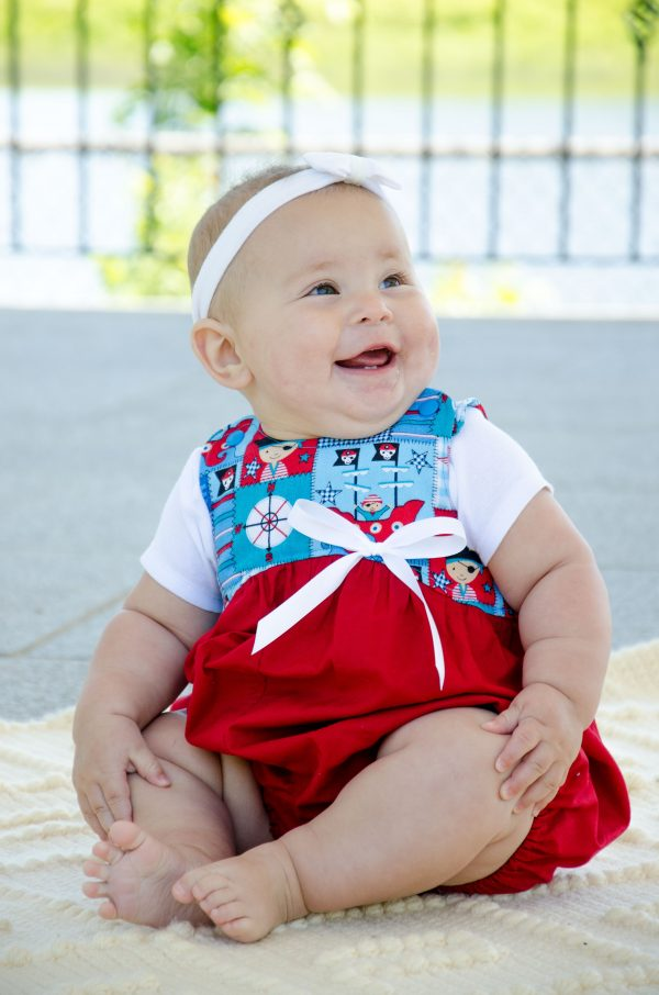 Pirate Bubble Romper
